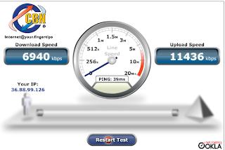 Cek Kecepatan Internetmu dengan CBN SpeedTest