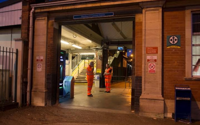 man head cut off london train station
