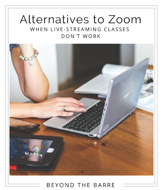 can't use zoom for ballet