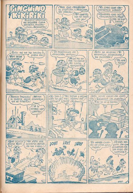 Pinguino y Kikirikí (Yumbo nº 5, 18-IX-1953)