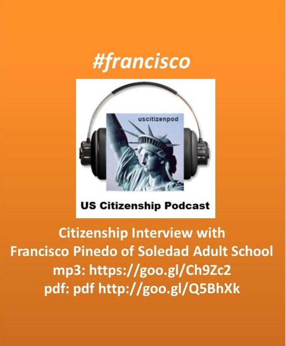 Us Citizenship Podcast New Podcast Citizenship Interview