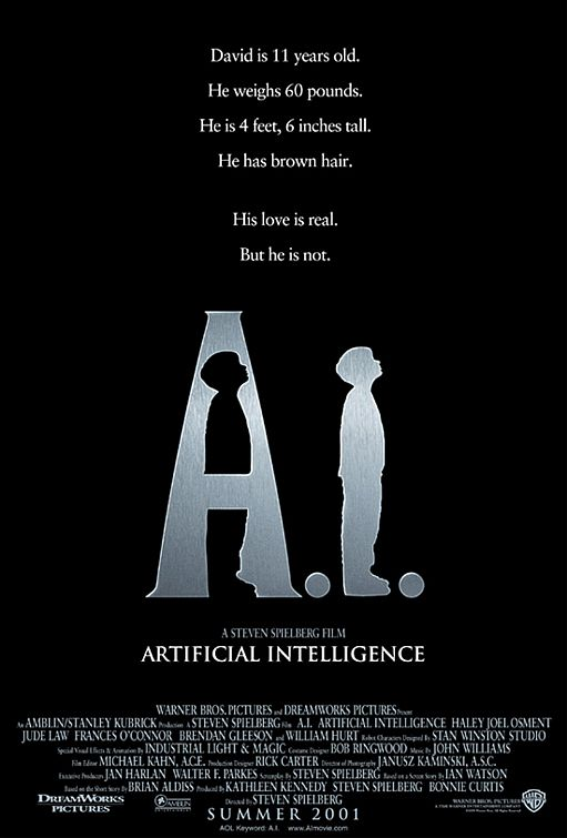 Hendriologi: Artificial Intelligence: AI: A Wish from Steel Pinocchio