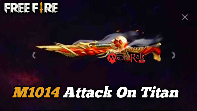 Skin M1014 Attack On Titan Free Fire
