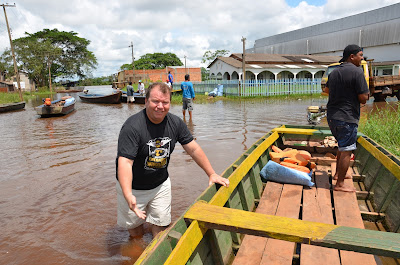 Dr. Neidson destaca alagação em bairros de Guajará-Mirim e alerta para situação ainda pior