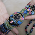 Recycled Watch Face Beadwork Jewelry Tutorial