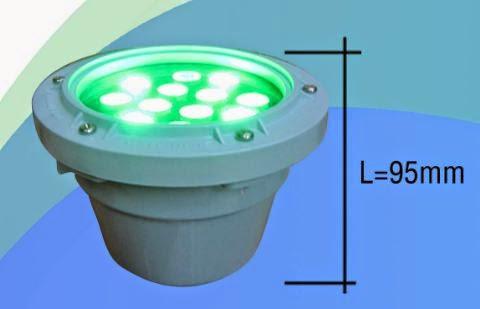 ĐÈN LED ÂM NƯỚC - ĐÈN LED CHIẾU SÁNG 12W