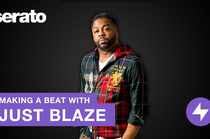 Just Blaze Makes A Beat With Serato Studio