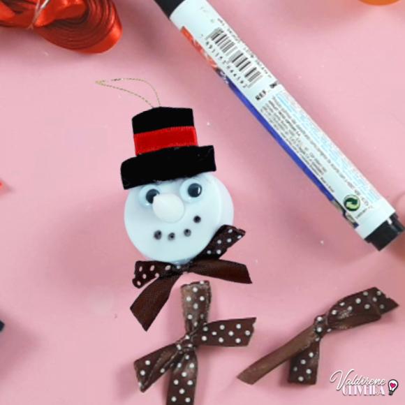 como fazer boneco de neve para decorar arvore de natal
