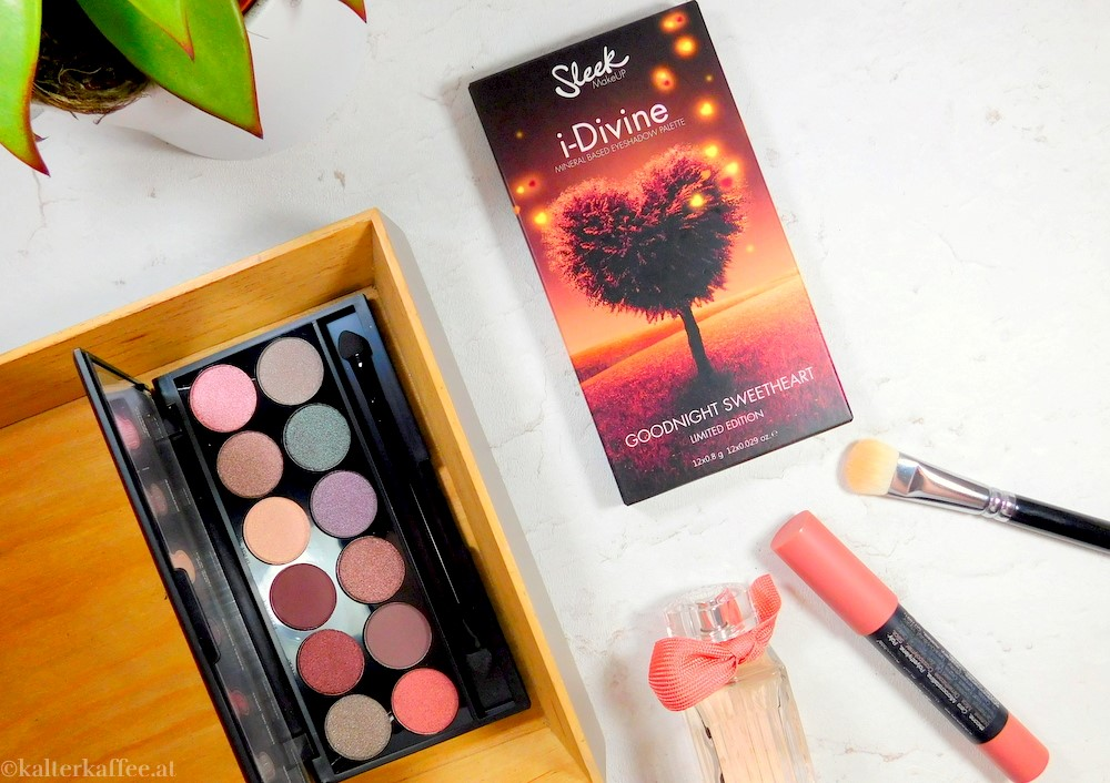 Sleek i-divine palette Goodnight Sweetheart