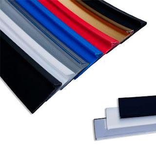 Perfil trim com alumínio