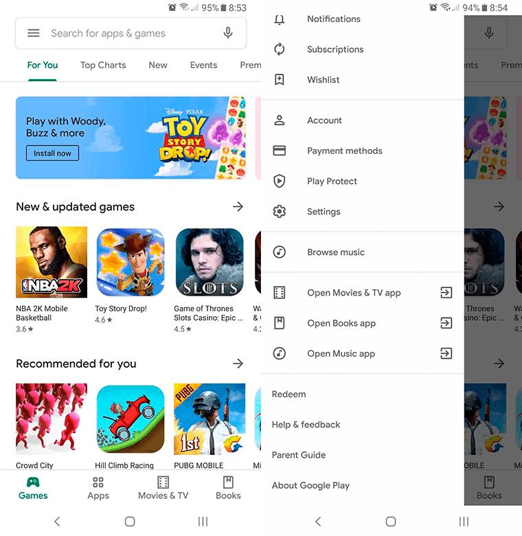 capturas google play store 15.1.24