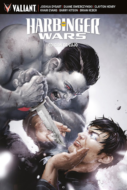 Reseña de HARBINGER WARS Edición de Lujo 1 - Medusa Cómics