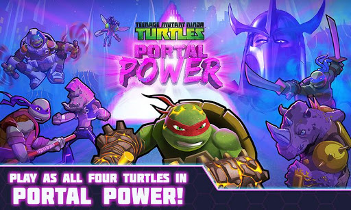 TMNT Portal Power Apk + Data Android