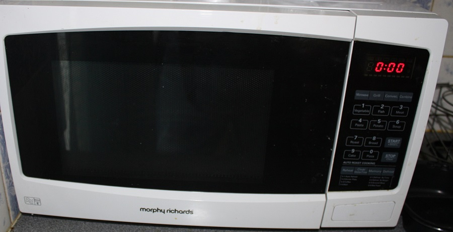 Rusty Microwave Oven Saved From Scrap heap