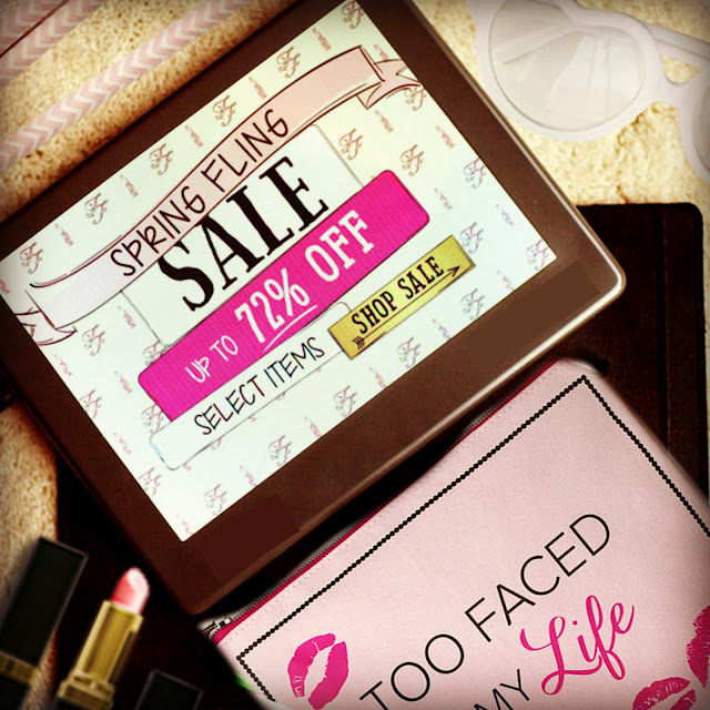 Too Faced Cosmetics, Spring fling Sale Up To 72%, By Barbie's Beauty Bits.