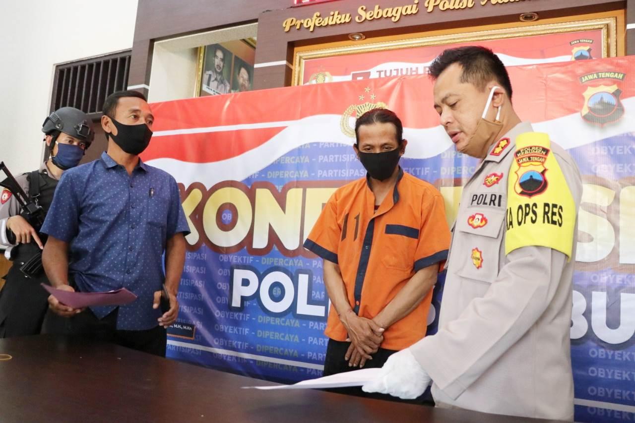 Berburu Sepeda Motor di Kebumen, Warga Garut ini Ditangkap Polisi