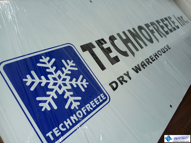 Acrylic Logo Panel Signage - Technofreeze Philippines