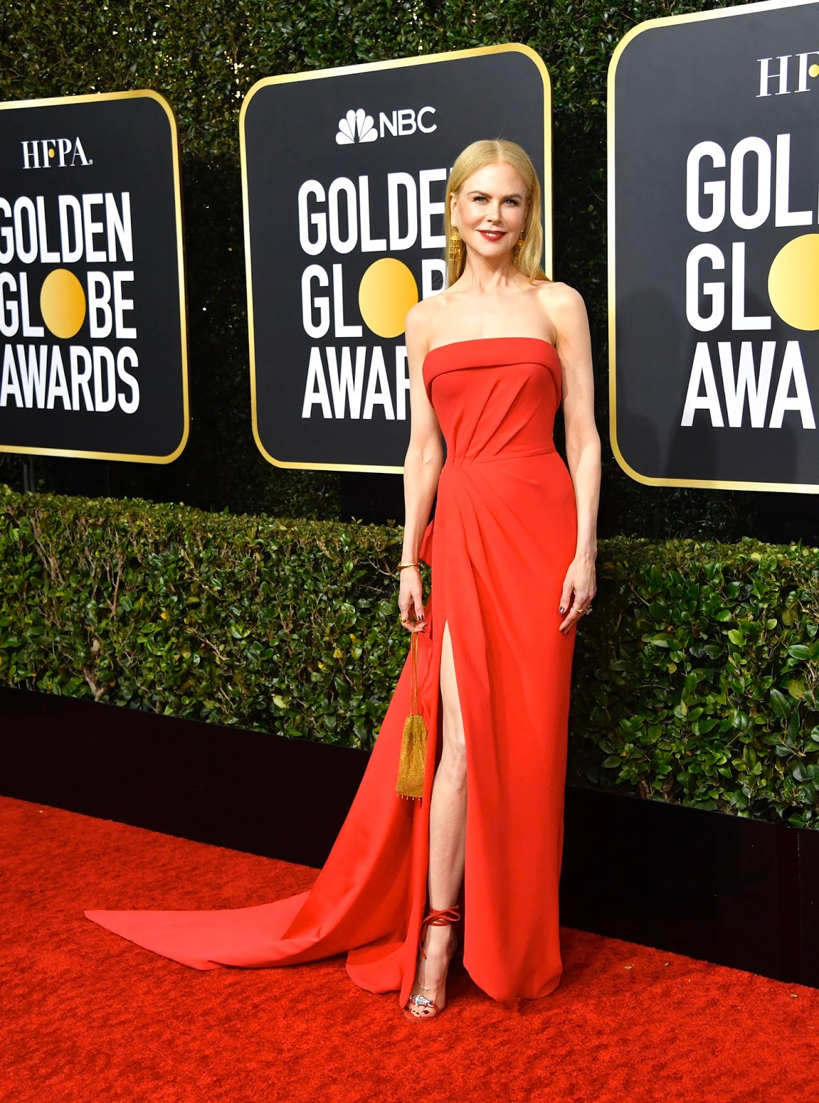 Nicole Kidman - 2020 Golden Globe Awards