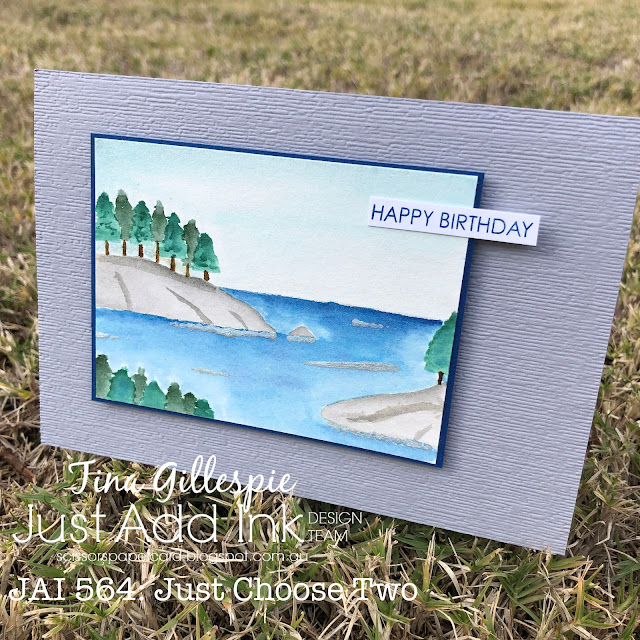 scissorspapercard, Stampin' Up!, Uniquely Creative, Just Add Ink, Sweet Sentiments Builder, Subtle 3DEF, Masculine Card