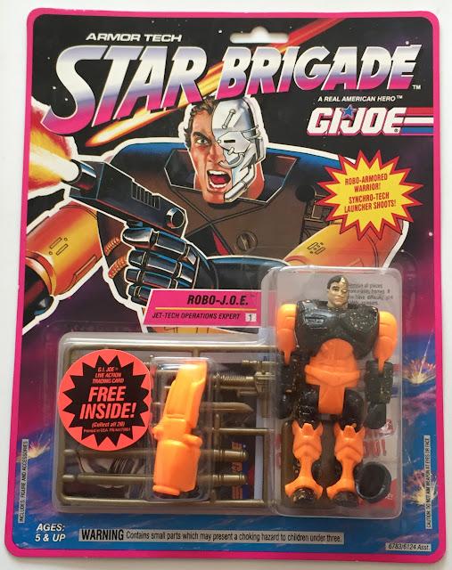 1993 Robo Joe, Star Brigade, Armor Tech