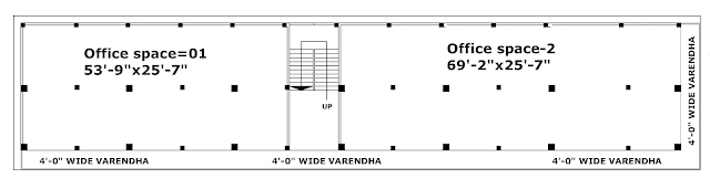 First floor plan of Queen's plaza