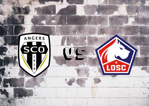 Angers vs Lille  Resumen