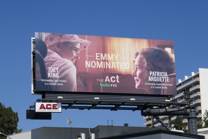 The Act 2019 Emmy nominee billboard