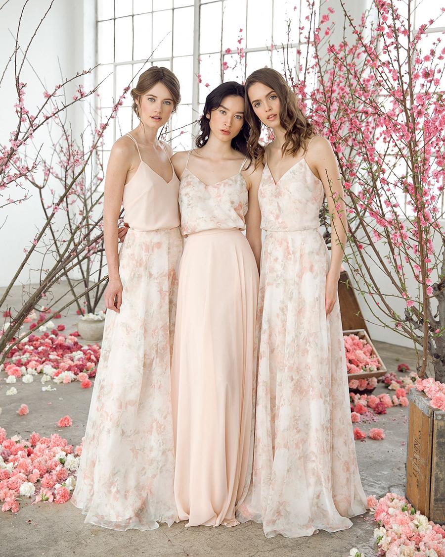 cewek mansi dan seksi Asymmetric Floral-Print Dress