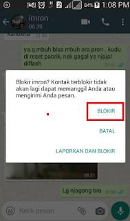 Cara Memblokir Kontak Nomor Whatsapp Tanpa Ribet