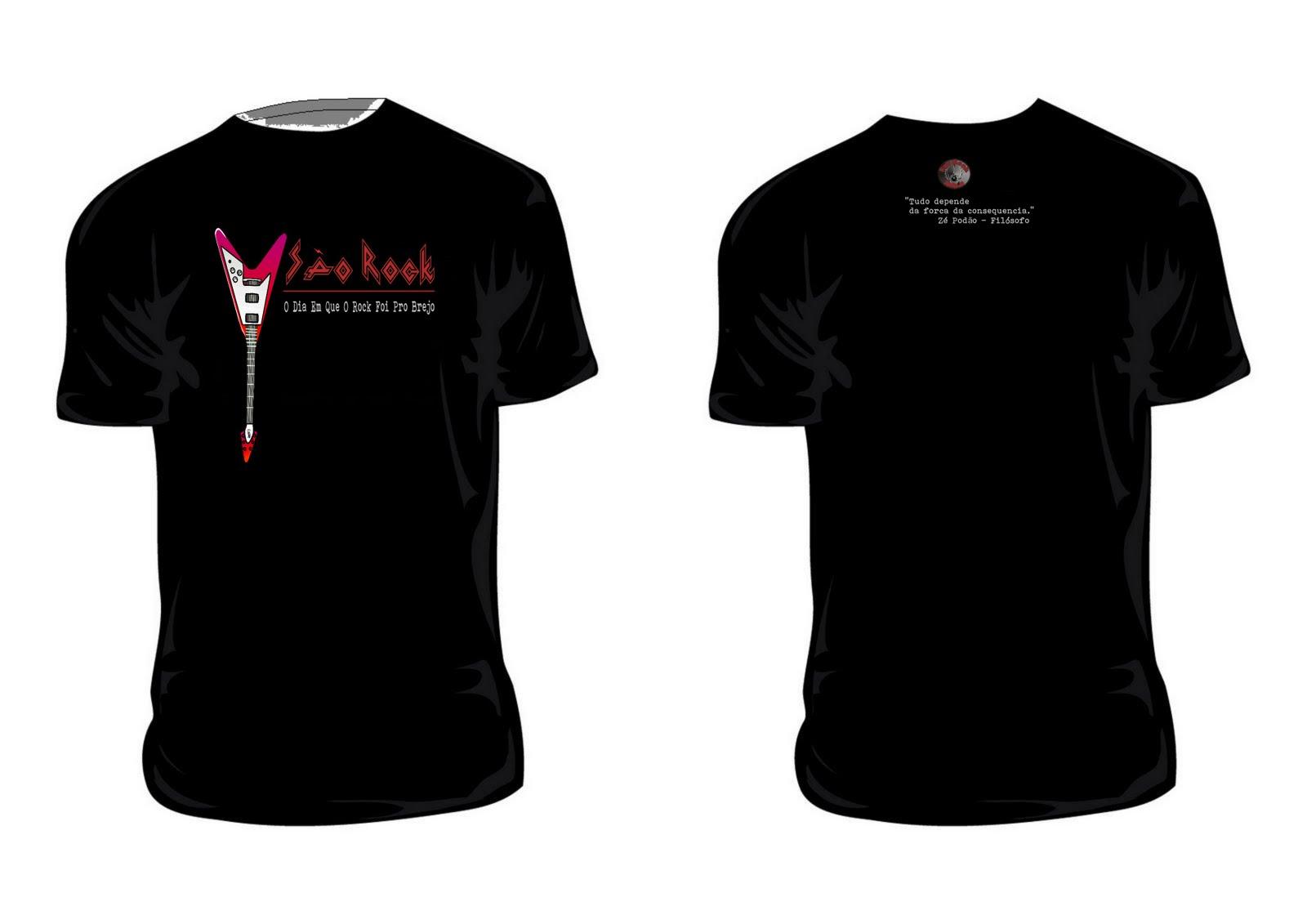 Camisas de Rock  Os Melhores Preços 7bdb058a6034f