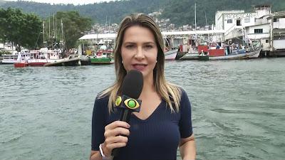 A repórter Mariana Procópio - Divulgação