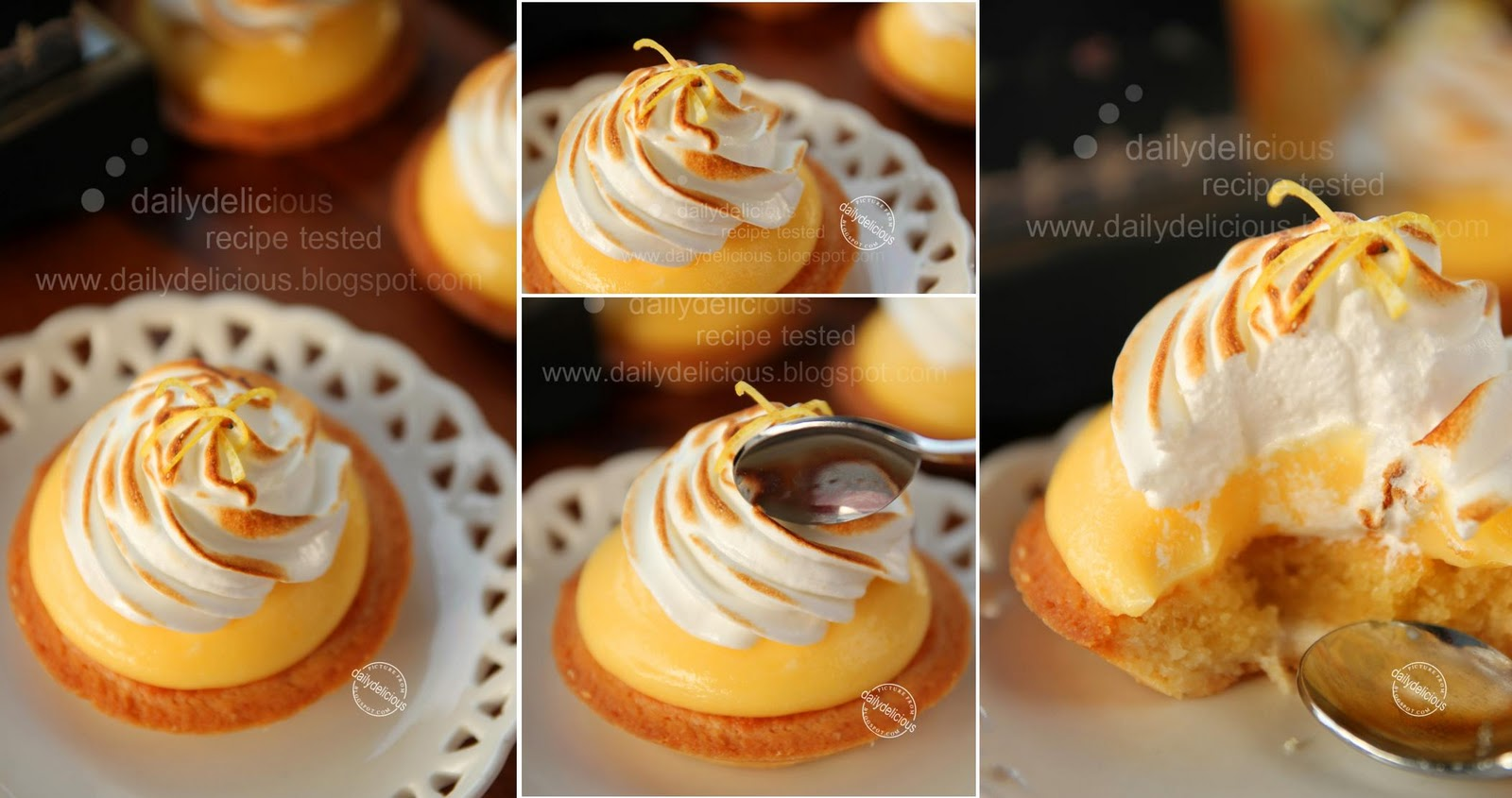 dailydelicious Tartelette au Citron Meringue My favorite