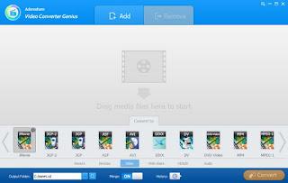 Adoreshare Video Converter Genius 1.4.0.0 Build 07.31.2017