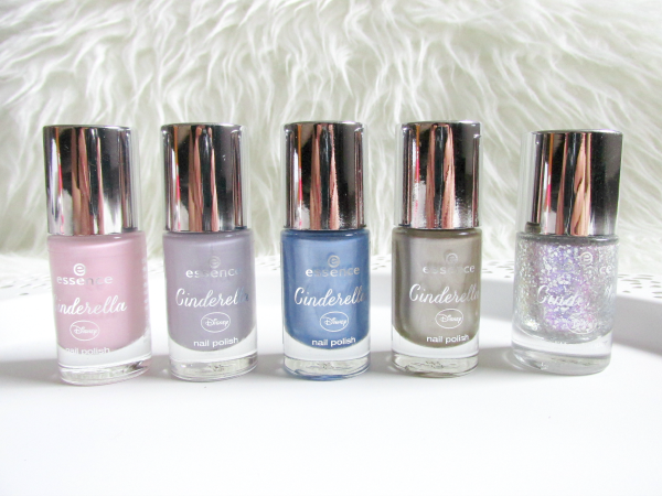 essence Cinderella Nail Polishes / Nagellacke & Glitter Topper - 8ml - je 1.99 Euro