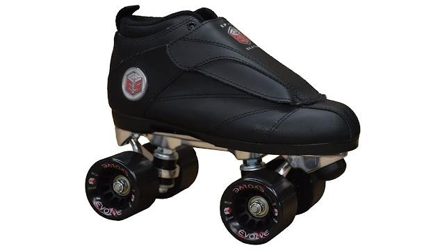 Epic Skates New Black Evolution Quad Roller