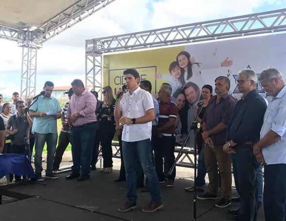 Tovar participa de compromissos em três municípios paraibanos neste fim de semana
