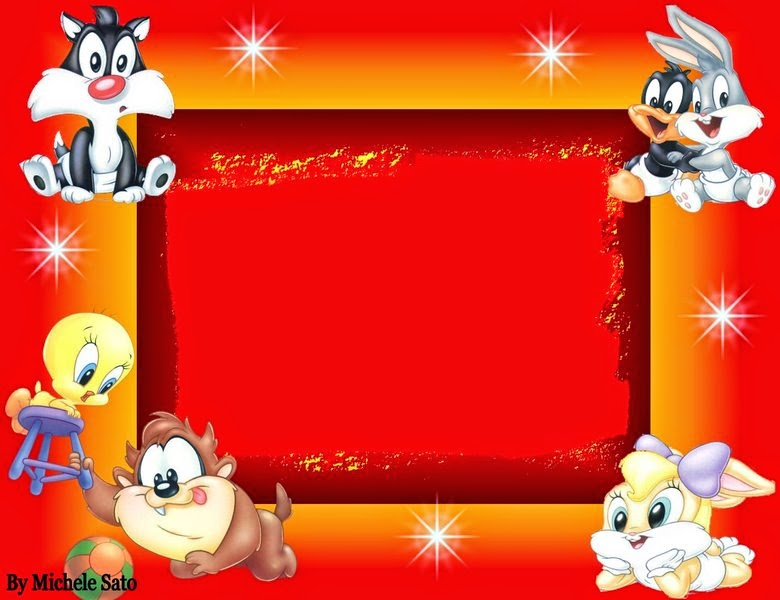 Baby Looney Tunes Free Printable Invitations or Cards Oh My