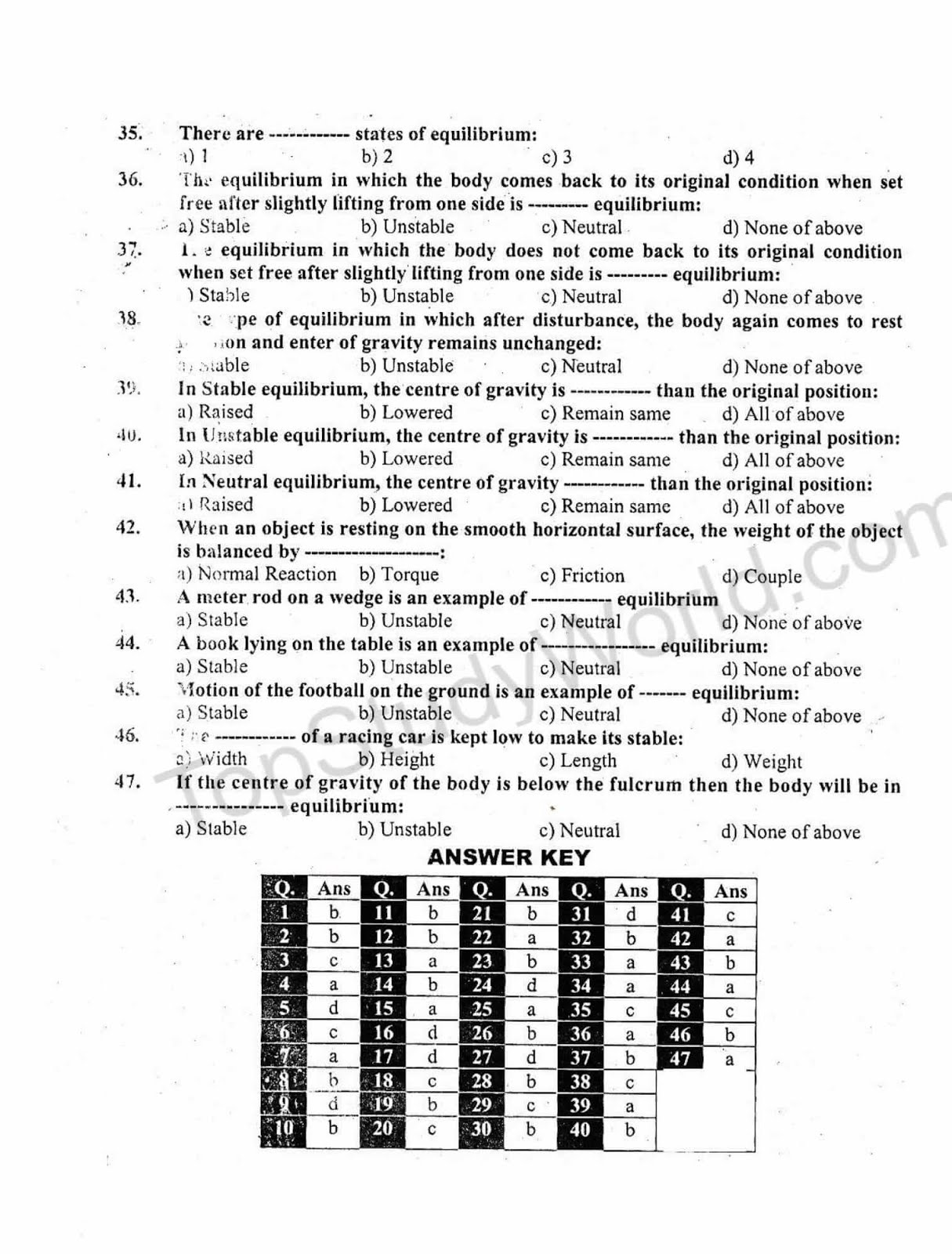 ptb 10th class physics notes solved question answers amp numerical problems