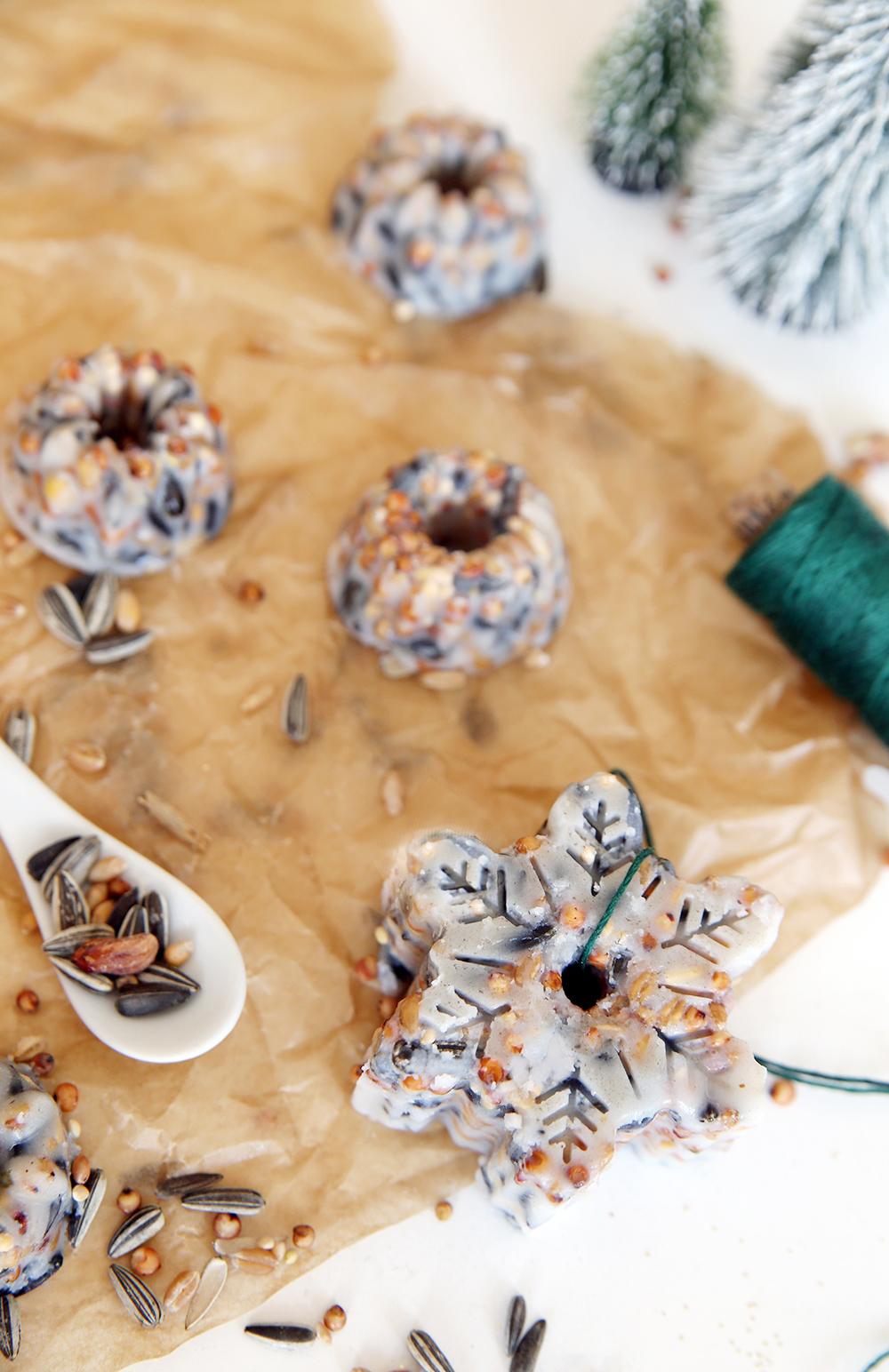 Kreative DIY-Idee: Vögel füttern im Winter