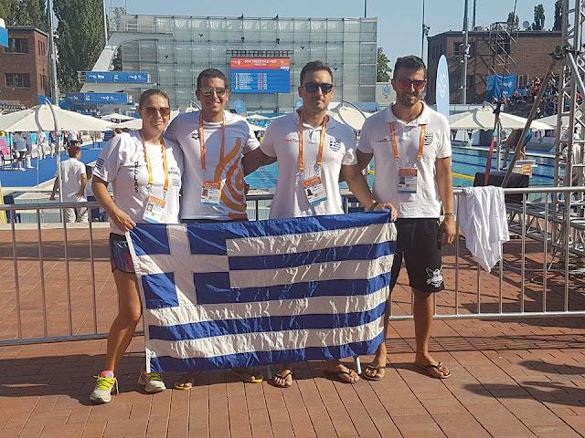 Εξαιρετικές επιδόσεις της αποστολής του Αθλητικού Συλλόγου Αργολίδας Ιπτάμενοι στη Βουδαπέστη