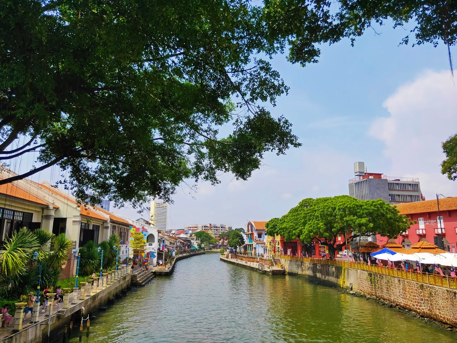 malacca river noon