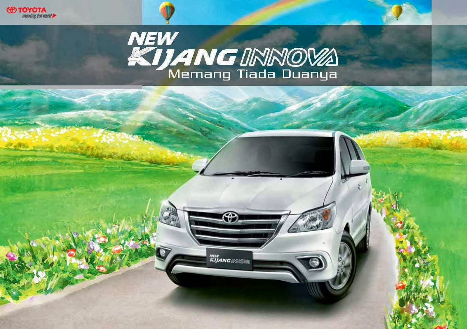 All New Kijang Innova Harga Modifikasi Grand Avanza Hitam Brosur Toyota 2016 Grill
