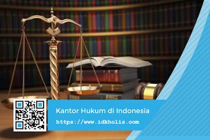 Jenis - Jenis Kantor Hukum di Indonesia