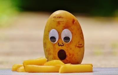 البطاطا، في حالة قلق وخوف !!