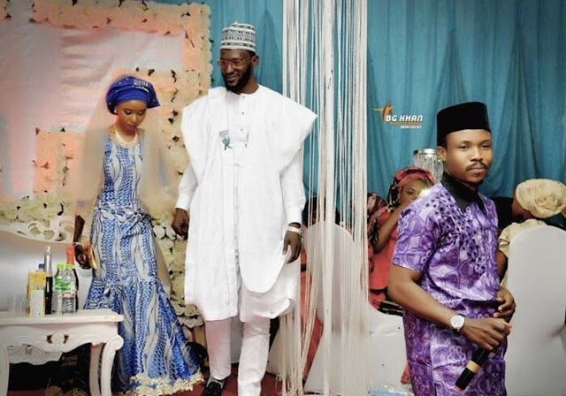 Photos: Actor Funky Mallam remarries 3 years after his divorce