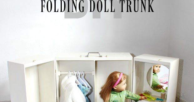 That S My Letter Diy Folding Doll Trunk