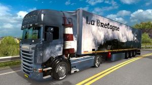 La Bretagne trailer and skin