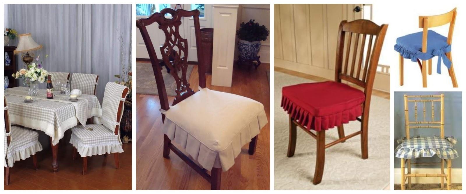 Aprende cómo hacer fundas para sillas paso a paso ~ Solountip.com