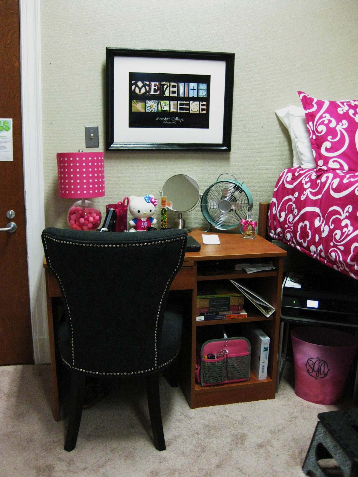 Makeup Chair Walmart White Covers Gumtree Ramblings Of A Southern Girl: Girlie Dorm Decorating
