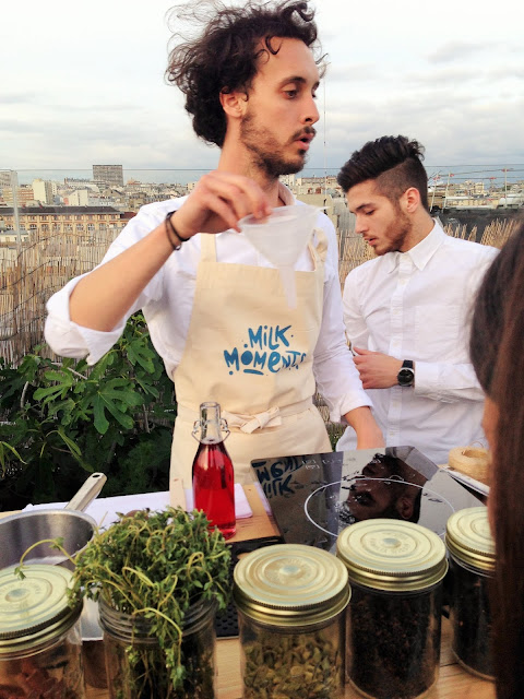 atelier sirop milk moments au perchoir